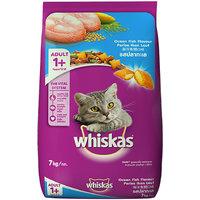Whiskas (Adult - Cat Food) Pocket Ocean Fish, 7 Kg Pack