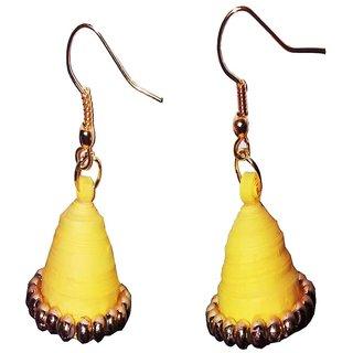 Fashionable Handmade paper earrings for women  girls by shrungarika ( J-4)