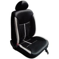 Hi Art Black & Grey Leatherite Seat Cover For Mahindra Xylo 8-Seater (Option 2)