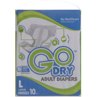 Go Dry Adult Diapers Large
