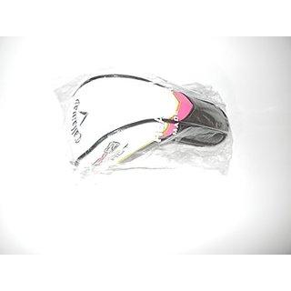 Callaway X2 Hot Ladies Hybrid Headcover (Black-White-Pink) Golf