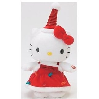 Hello Kitty Holiday Edition Dancing Kitty Plush