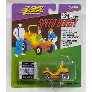 Johnny Lightning - Cartoon Network - Speed Buggy (1998) w-original filmstrip animation cel art