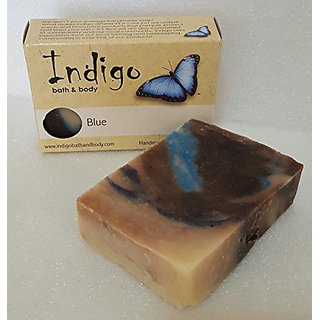 Blue - Mens, Womans, Unisex Handmade Shea Butter Soap