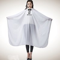 Salon Professional Hair Styling Cape, Colorfulife Large with Bow-tie Boss Hair Cutting Coloring Styling Waterproof Cape