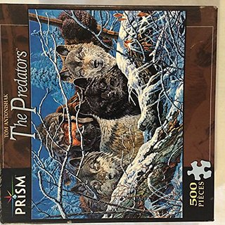 The Predators By Artist Tom Antonishak - 500 Piece Puzzle