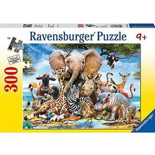African Friends 300 Piece Puzzle