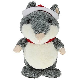 New Chatimal Walking & Talking Hamster (Grey)