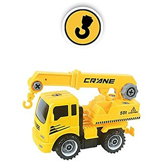 Construct A Truck - Crane. Take it apart & put it back together + Friction powered(like 2-toys-in-1!) Awesome award winn