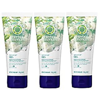 Herbal Essences Set Me Up Max Hold Hair Gel 6 Oz (Pack of 3), (Packaging may vary)