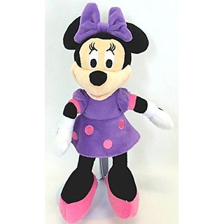 Just Play Plush Minnie Mouse - Purple