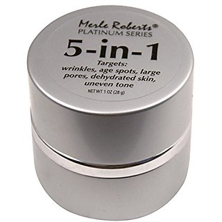 Merle Roberts Platinum Series 5-in-1 Crme - Wrinkles, Age Spots, Large Pores, Dehydrated Skin, and Uneven Pores - Face,