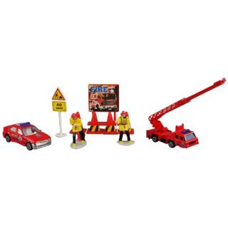 Daron Fire Department Gift Set 10-Piece