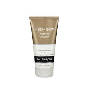 Neutrogena Visibly Even Foaming Cleanser (pack of 2)