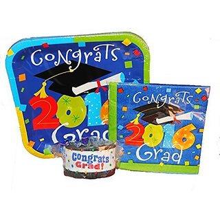 2016 Graduation Plates and Napkins, Plus Graduation Streamers!