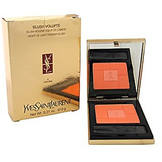 Yves Saint Laurent Volupte Heart of Light Powder Blush, No. 8 Heroine, 0.31 Ounce