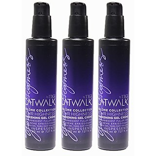Catwalk Your Highness Thickening Gel Crme By Tigi, 7.27 Ounce (Pack of 3)