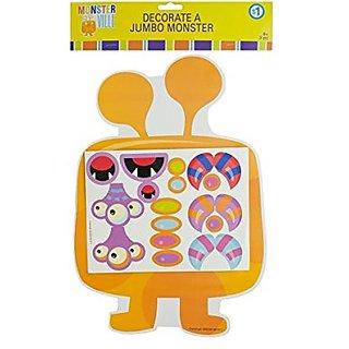 Kole Monsterville Decorate A Jumbo Monster Kit
