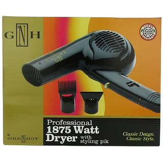 Gold N Hot Professional 1875-Watt Dryer with Styling Pik