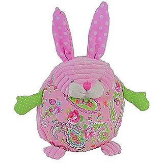 Maison Chic Bunny Soft Sculptured Animal Pink Plush Pillow Toy - 8