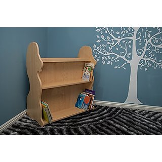 Ace Baby Furniture Lion Mobile Double-Sided Bookcase, Natural Maple