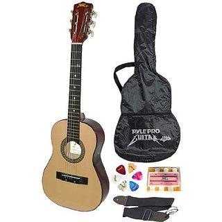 Pyle-Pro PGAKT30 30 Inch Beginner Jamer, Acoustic Guitar w Carrying Case & Accessories