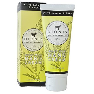 Dionis - White Jasmine and Shea - Goat Milk Hand Cream - 2 Oz Tube with Gift Box