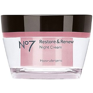 No7 Restore and Renew Night Cream - 1.6 oz by Boots