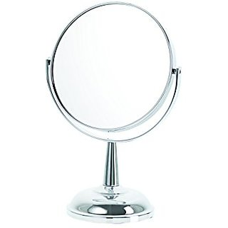 Danielle Classic Chrome 5X Magnification Dome Base Mirror, Chrome