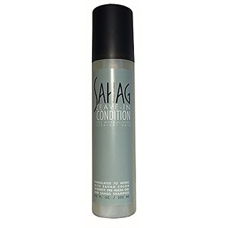 Sahag Leave In Condition For Normal To Fine Straight Hair 8.5 Oz