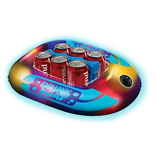 Illuminated 6 Pack Drink Boat Cooler - 19