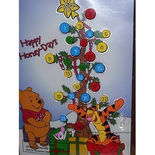DISNEY WINNIE THE POOH & FRIENDS COUNTDOWN TO CHRISTMAS ADVENT CALENDAR