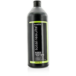 Matrix Total Results Rock It Texture Conditioner for Unisex, 33.79 Ounce