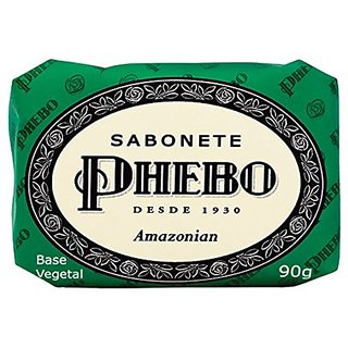 Linha Tradicional Phebo - Sabonete em Barra de Glicerina Amazonian 90 Gr - (Phebo Classic Collection - Glycerin Bar Soap