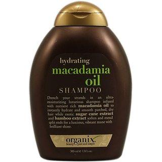 Organix Hydrating Macadamia Oil Shampoo -- 13 fl oz