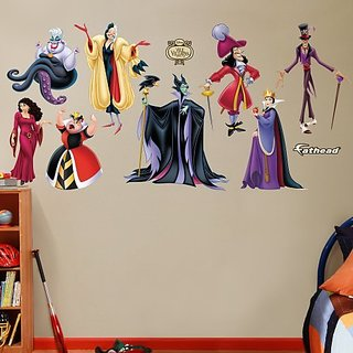 FATHEAD Disney Villains Collection Graphic Wall Dcor