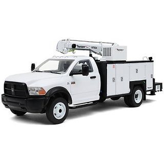 Dodge Ram 5500 with Maintainer Service Body White 1 34 by First Gear 10-4060