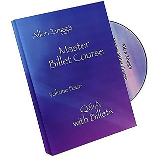 MMS Master Billet Course Q&A with Billets by Allen Zing - Volume 4 - DVD
