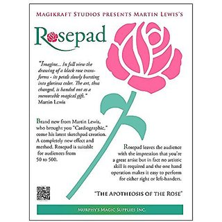 MMS The Rose Pad (Complete Kit) by Martin Lewis - Trick