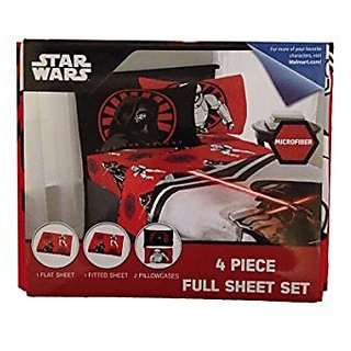 Star Wars 4 Piece Full Sheet Set Microfiber