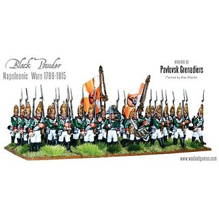 Napoleonic Russian Pavlosk Grenadiers