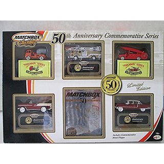 Mattel Matchbox Collectibles 50th Anniversary Commemorative Series