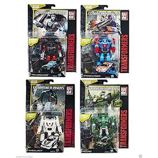 Transformers Generations Combiner Wars Deluxe Wave 6 Set of 4