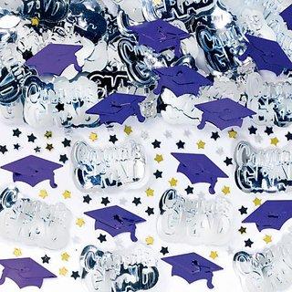 Purple Graduation Confetti