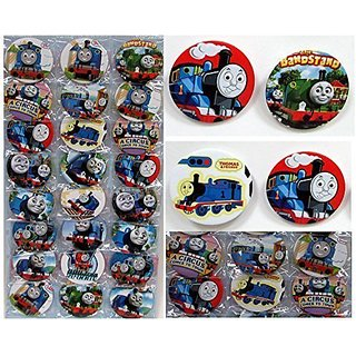 Thomas the Train Buttons Set Birthday Party Favors Set of 24 Party Backpack 2