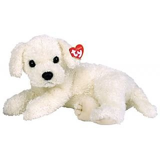 Ty Tidbit - Laying Dog