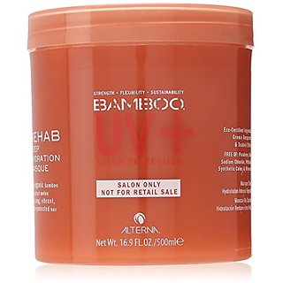 Alterna Bamboo UV+ Rehab Deep Hydration Masque for Unisex Masque, 16.9 Ounce