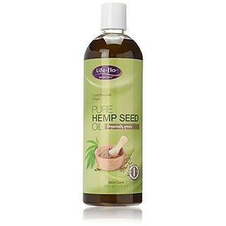 Life-Flo Pure Hemp Seed Body Oil, 16 Ounce