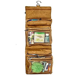 Viaggi Travel Gear Multiple Compartment Hanging Toiletry Organiser