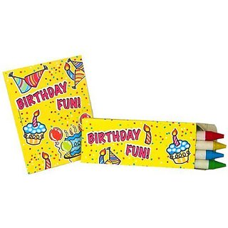 Fun Express Teacher Resources & Birthday Supplies Mini Happy Birthday Coloring Sets